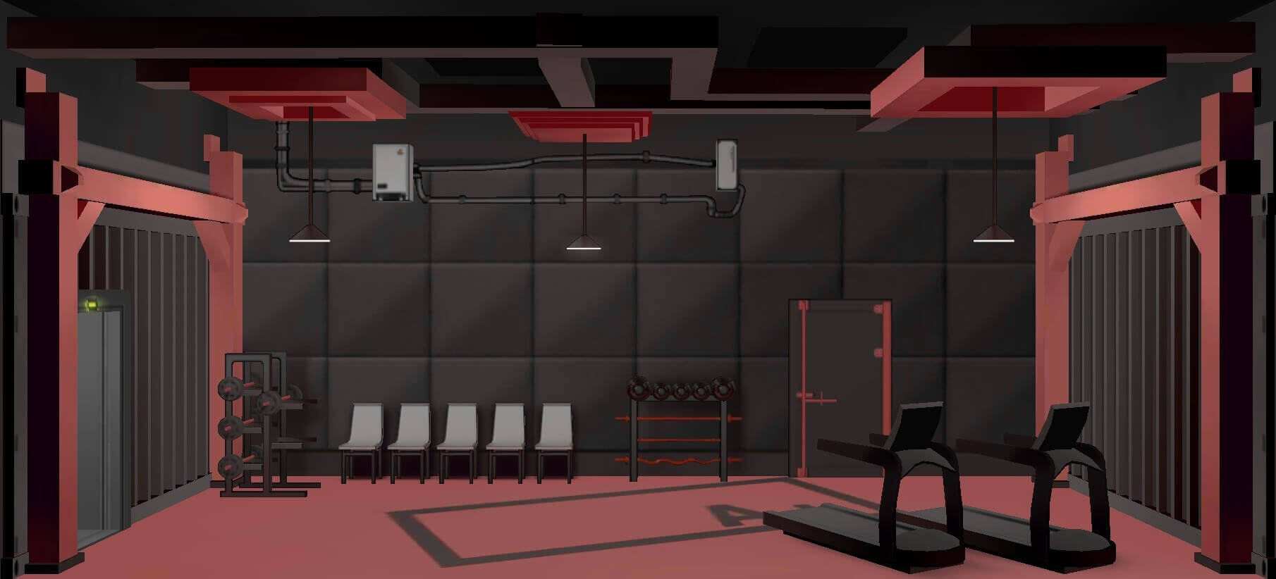 Arknights Training Room