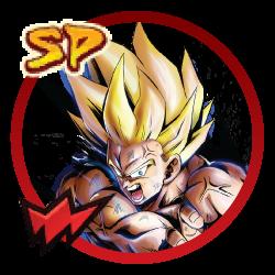 SP Super Saiyan Goku (Red) | Dragon Ball Legends Wiki - GamePress