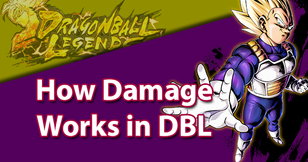 How Damage Works in Dragon Ball Legends