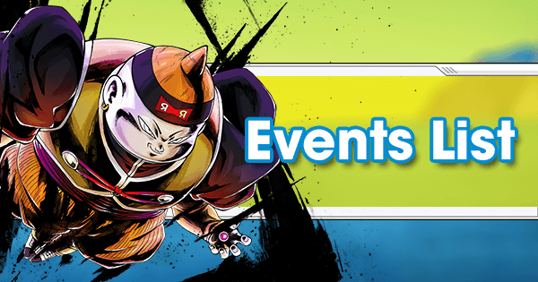 Events List