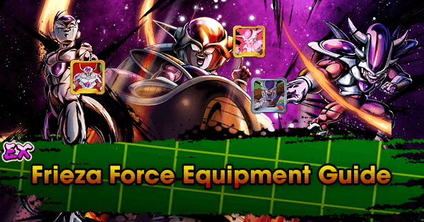 extreme frieza force equipment guide