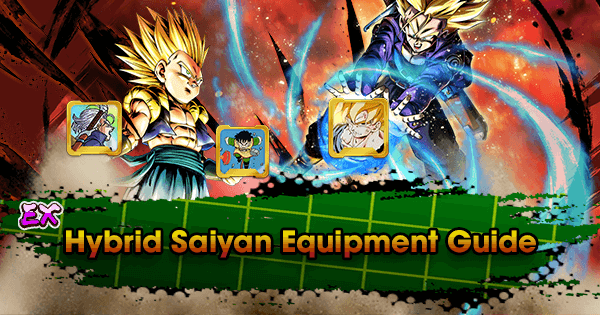 extreme hybrid saiyan equipment guide