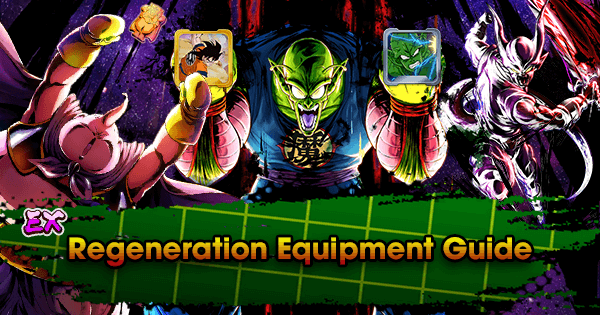 extreme regeneration equipment guide