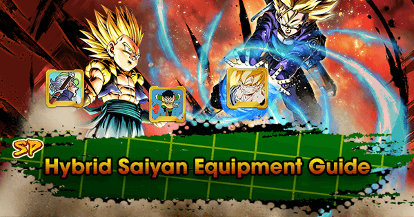 sparking hybrid saiyan equipment guide