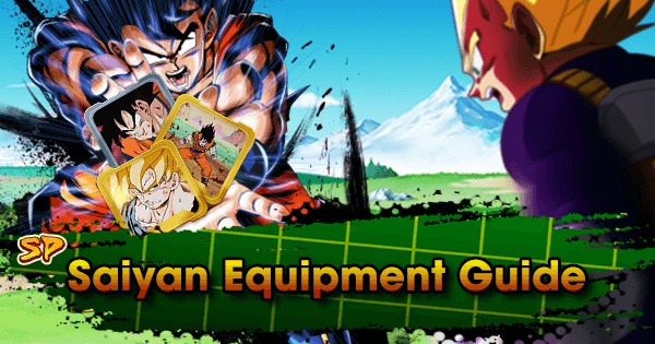 sparking saiyan equipment guide