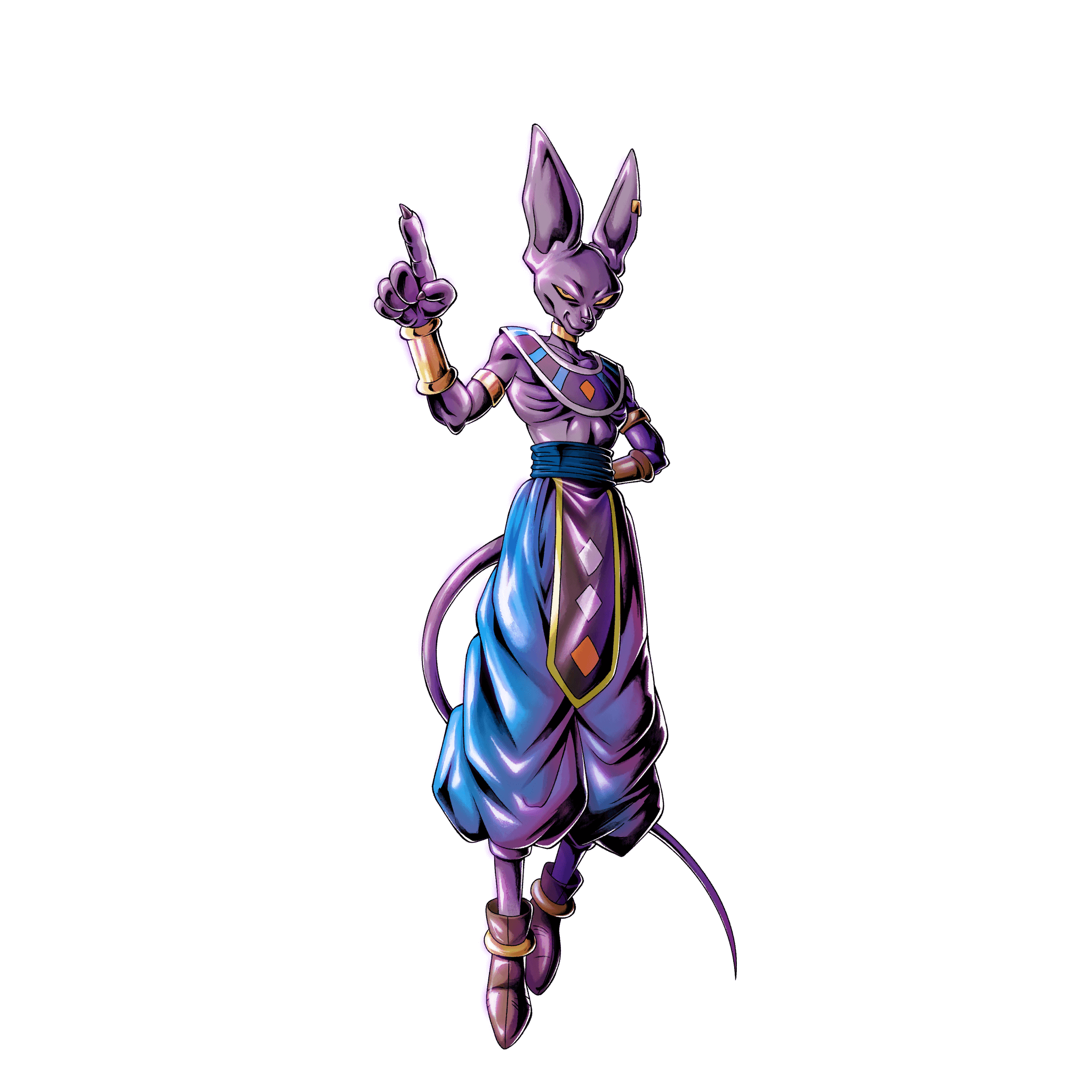 Sp God Of Destruction Beerus Green Dragon Ball Legends Wiki