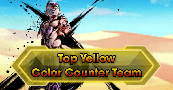 top yellow color counter team