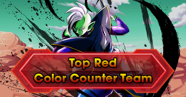 top red color counter team