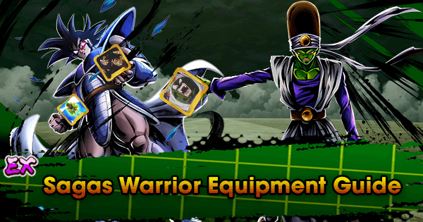 EX Sagas Warrior Equipment Guide