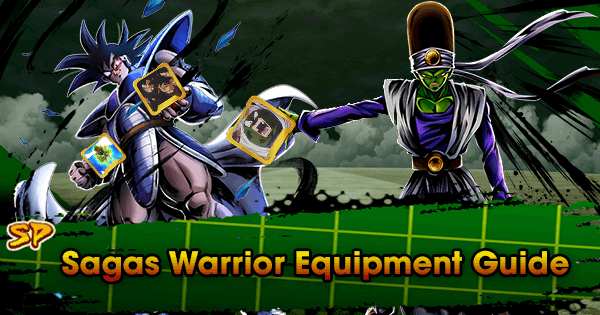 SP Sagas Warrior Equipment Guide