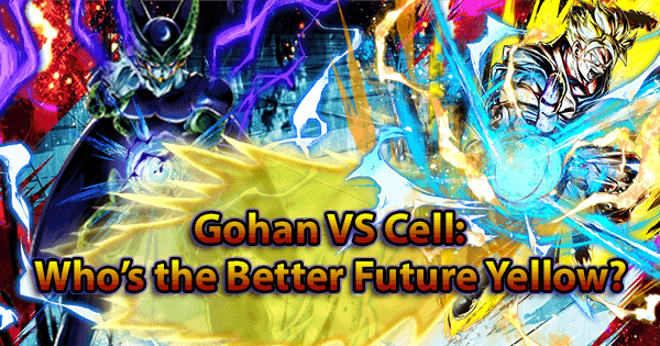 Gohan VS Cell: Fighter Who's the Better Future Yellow?