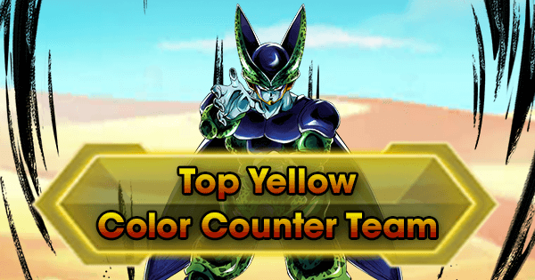 Top Yellow Color-Counter Team