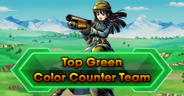 Top Green Color Counter Team