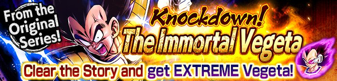 Knockdown! The Immortal Vegeta Event Guide