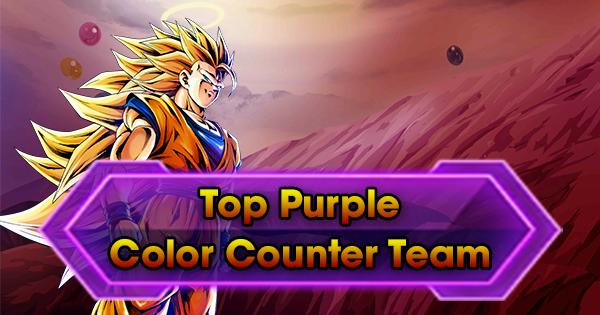 Top Purple Color Counter Team