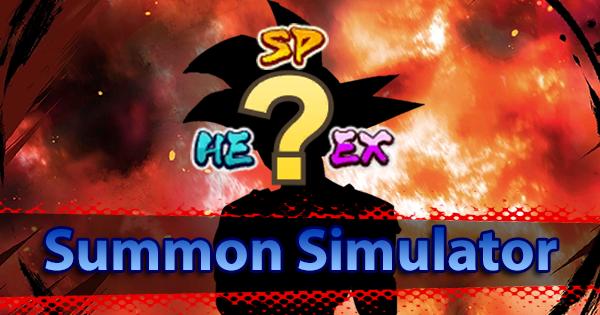 Summon Simulator | Dragon Ball Legends Wiki - GamePress