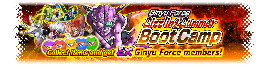 Ginyu Force: Sizzling Boot Camp Event Guide