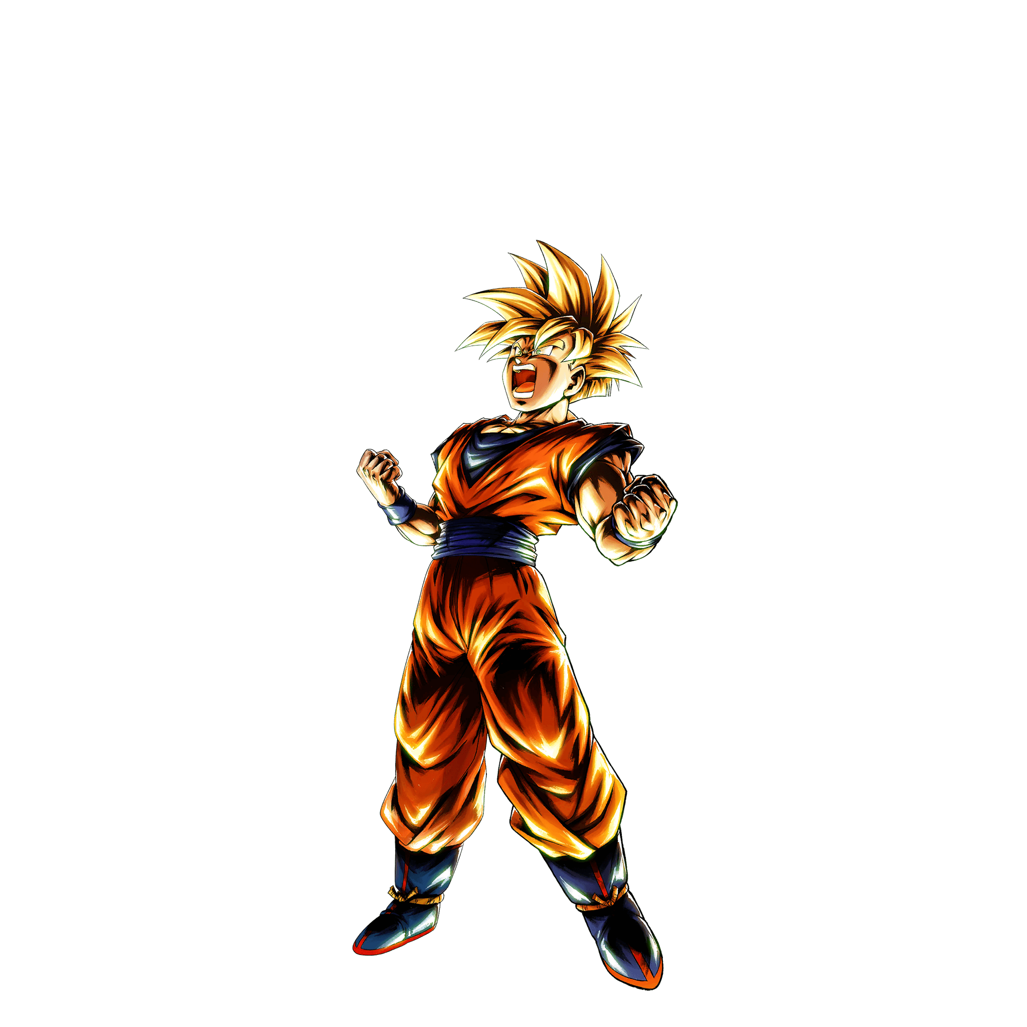 Sp Super Saiyan Youth Gohan Yellow Dragon Ball Legends