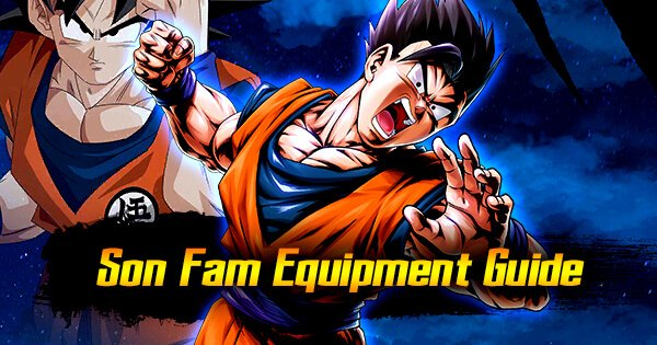 son fam equip guide