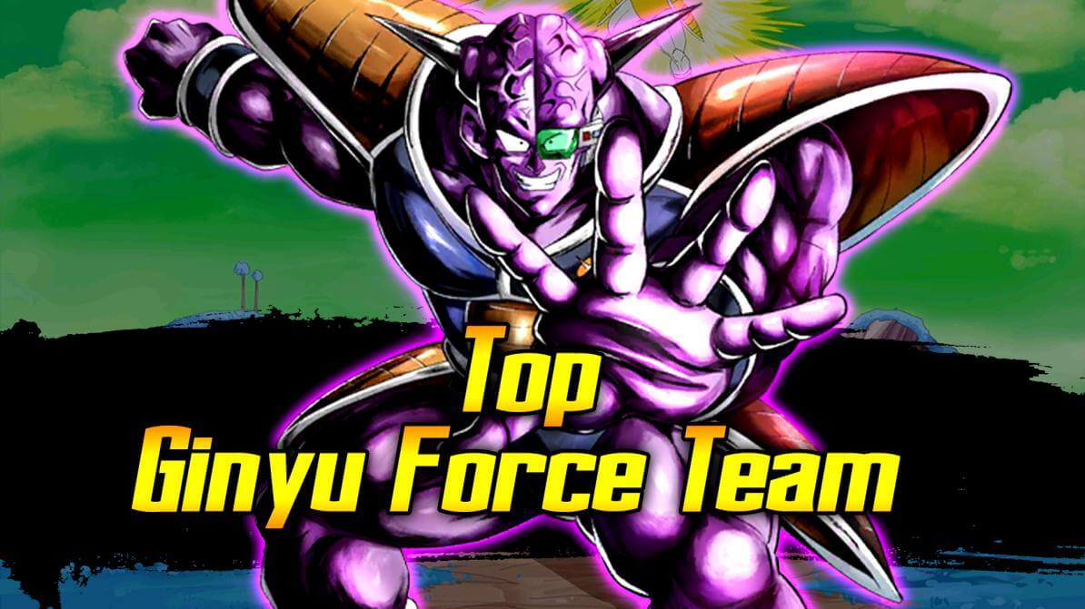 Top Ginyu Force Team