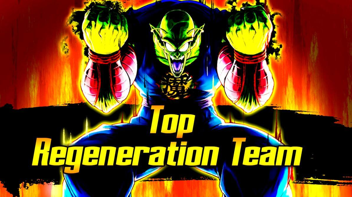 Top Regeneration Team | Dragon Ball Legends Wiki - GamePress