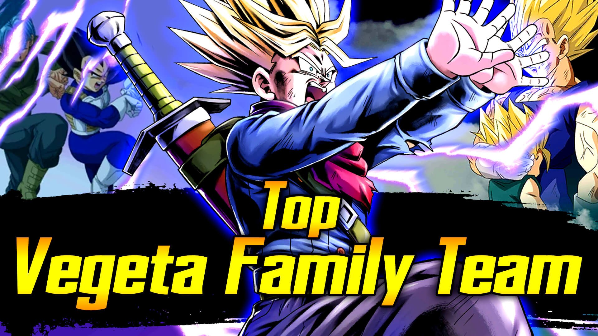 Top Vegeta Family Team