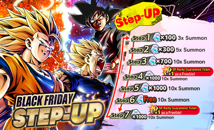 Black Friday Step Up Now On Dragon Ball Legends Wiki Gamepress