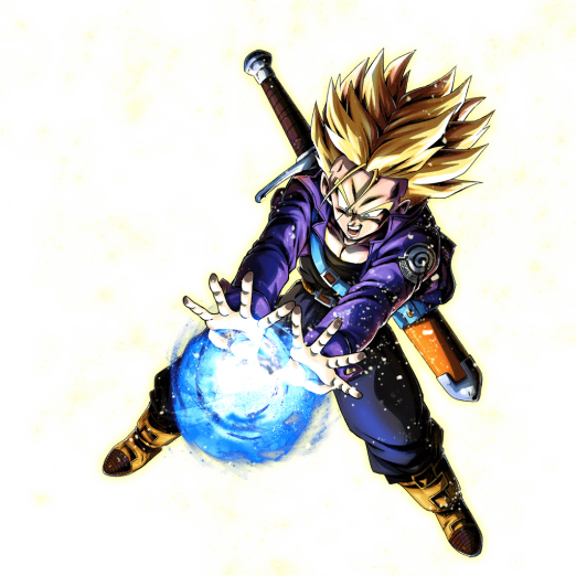 Joa Full Transformation Png: SP Super Saiyan Teen Trunks (Red)
