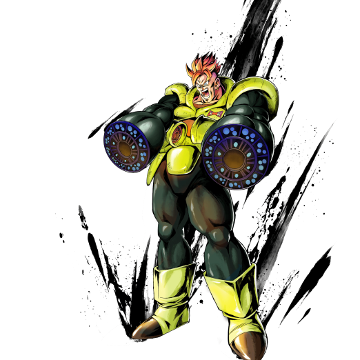 SP Android #16 (Green) | Dragon Ball Legends Wiki - GamePress