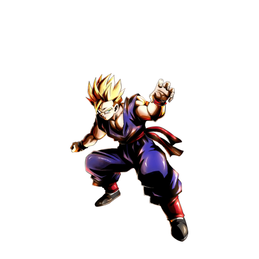 Kid Gohan Super Saiyan 5