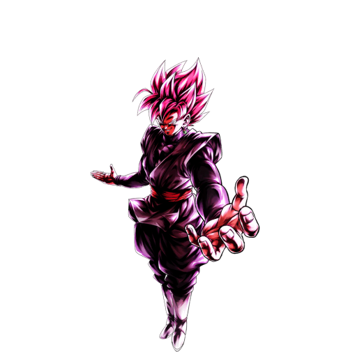 Sp Super Saiyan Rosé Goku Black Red Dragon Ball Legends