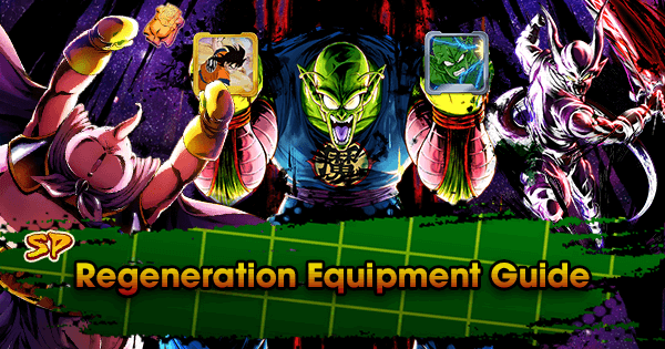 SP Regeneration Equipment Guide