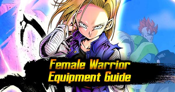 female warrior equipment guide