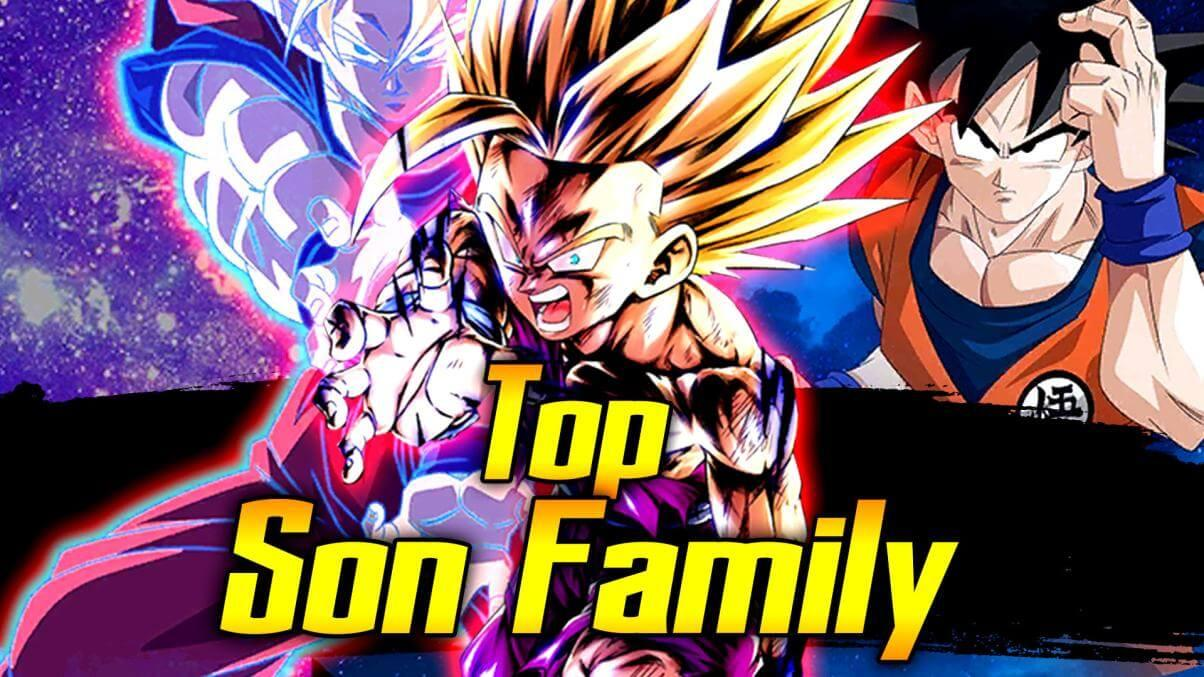 Top Son Family Team | Dragon Ball Legends Wiki - GamePress