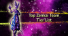 Top Zenkai Team Tier List