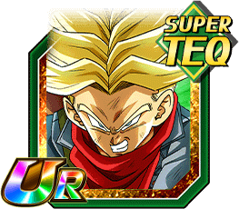 Resilient Will to Protect the Future -Super Saiyan Trunks (Future) Portrait
