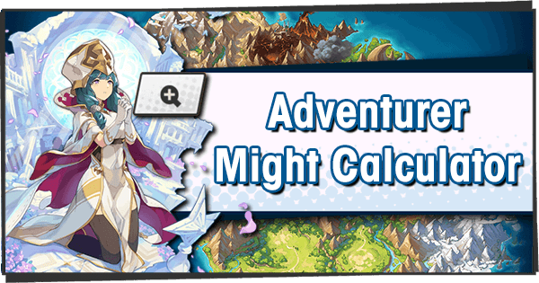 Adventurer Might Calculator