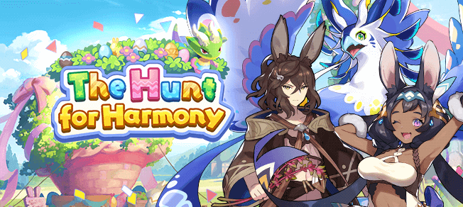 Hunt for Harmony Banner