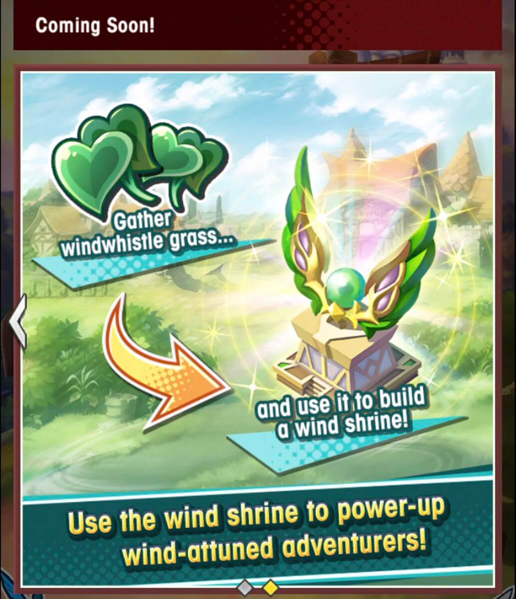 Next Facility Event - a Wish to the Winds Begins Nov 14