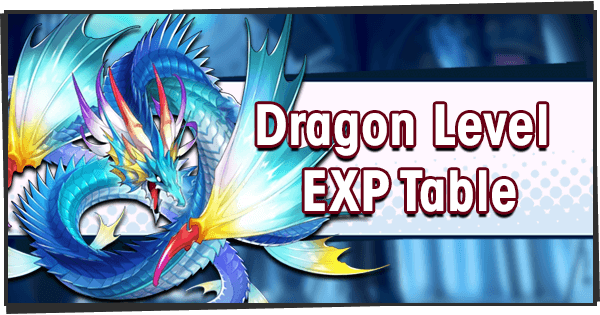 Dragon Level Exp Table Dragalia Lost Wiki Gamepress