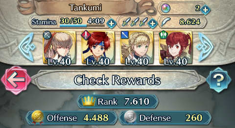 fire emblem heroes how to get high defense score