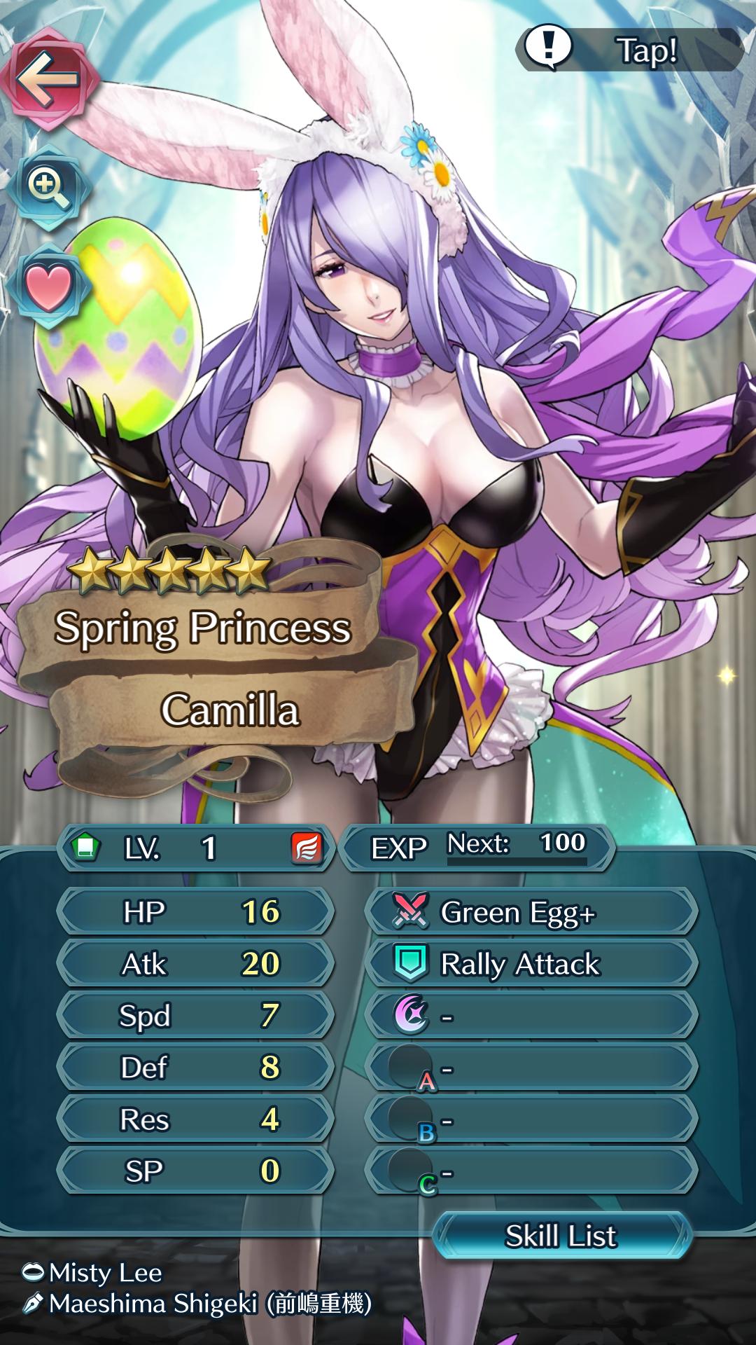 Camilla Fire Emblem Heroes Build