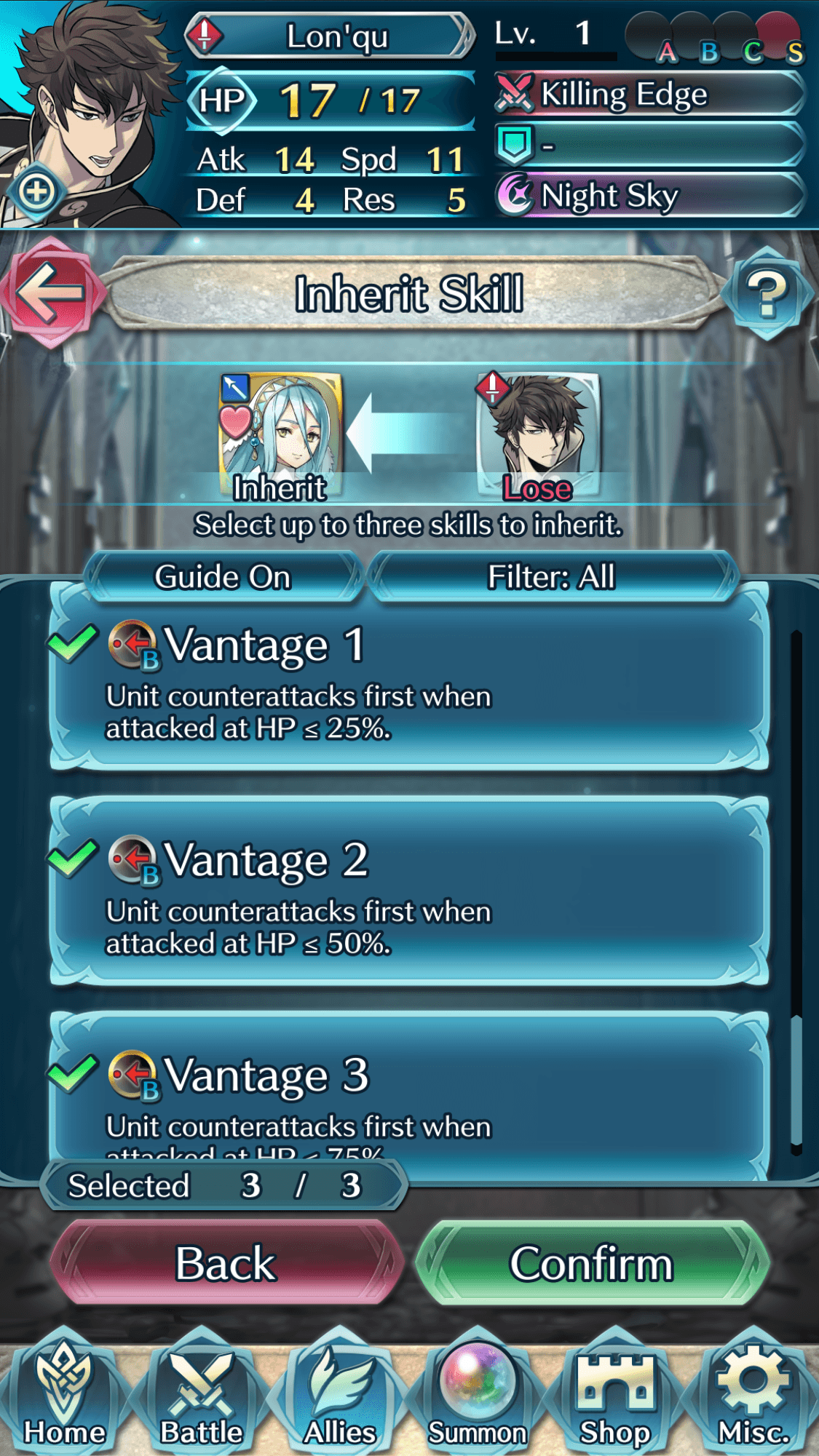 Skill Inheritance – The Do's and Don'ts