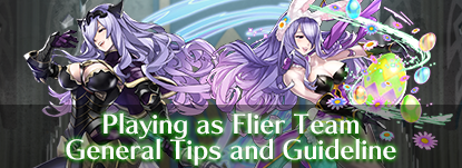 Playing a Flier Team - General Tips and Guidelines