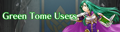 Green Tome users