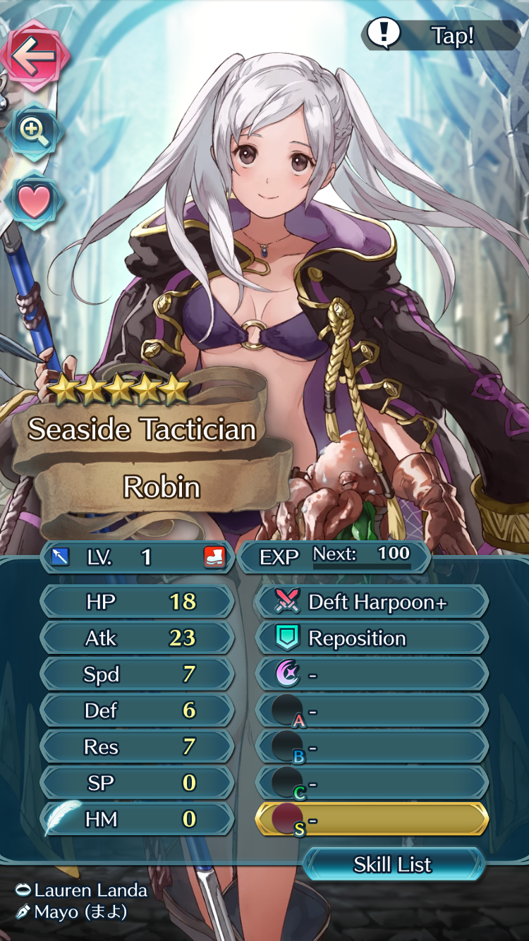 Roy Builds Fire Emblem Heroes