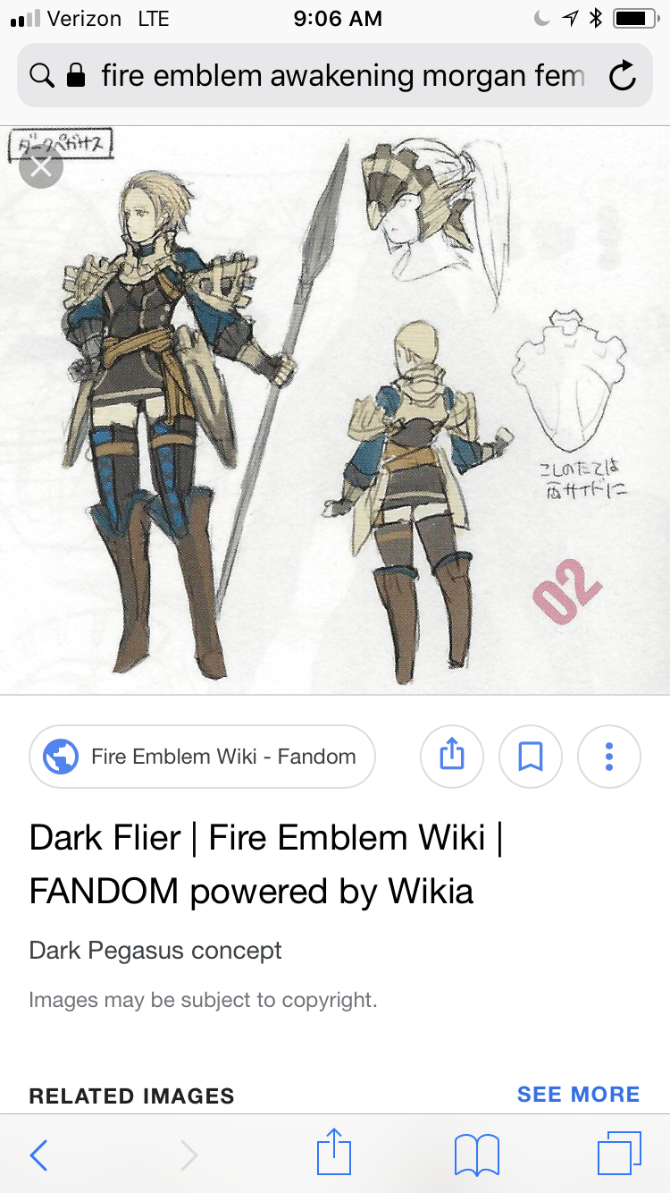 A comment on Female Morgan | Fire Emblem Heroes Wiki - GamePress