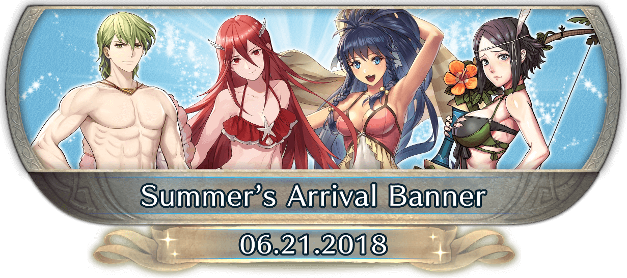 FEH Content Update: 06/20/18 - Summer's Arrival