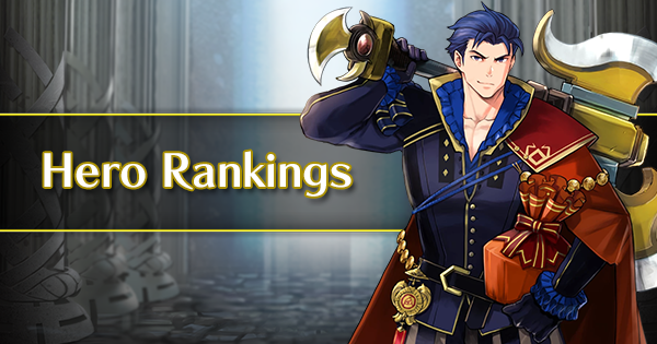 GamePress Hero Rankings