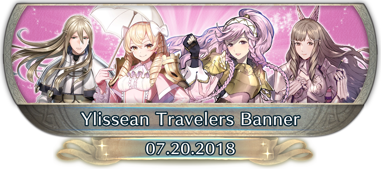 FEH Content Update: 07/19/18 - Ylissean Travelers